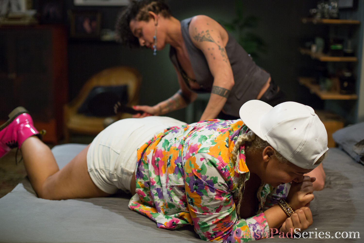 The Crash Pad Series Queer Porn Review: Episode 190 – Brooklyn Flaco and Golden Curlz